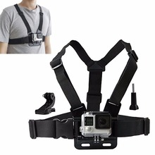 Action camera Chesty Strap for Gopro hero 7 6 5 4 SJCAM SJ4000 Chest Mount Harness for Go Pro SJCAM for Xiaomi yi sport camera