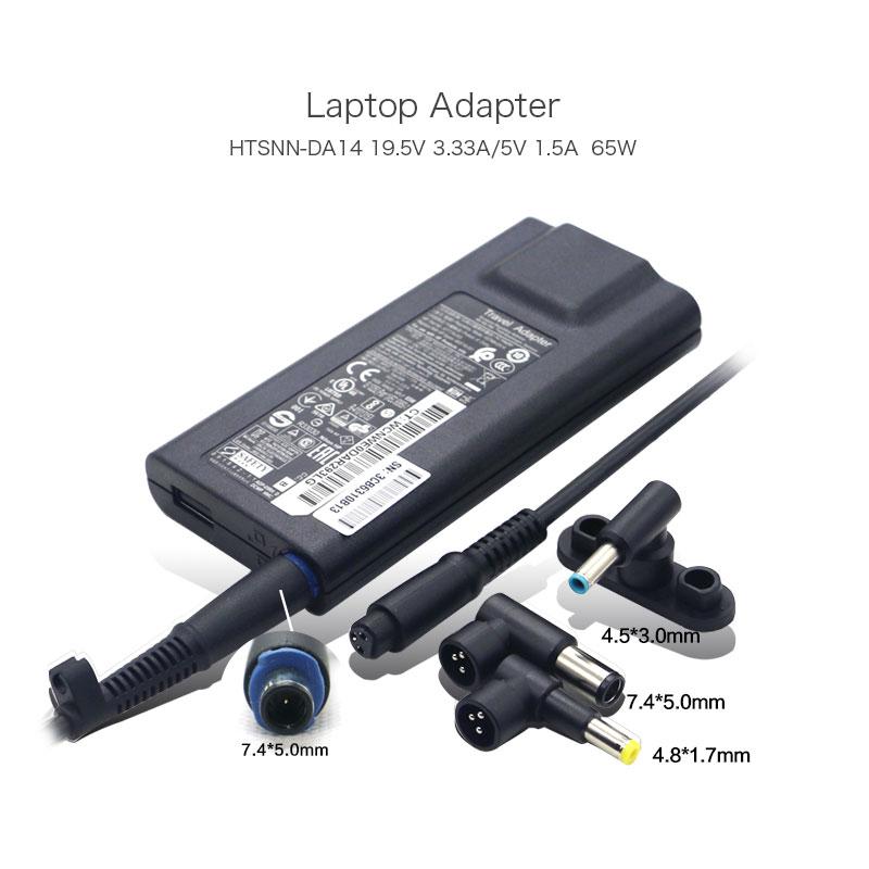 все цены на Genuine HSTNN-DA14 For HP 65W 19.5V 3.33A 4.5*3.0mm 7.4*5.0mm 4.8*1.7mm Slim Travel AC Adapter 693716-001 677776-003 5V 1.5A