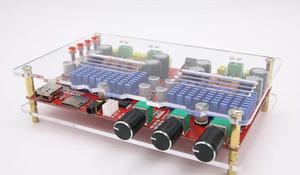 Image 3 - TDA3116 2.1 Canali Bluetooth subwoofer Bordo Amplificatore 2*60W + 100W di Potenza Stereo Amplificatore Audio Amplificatore per Basso