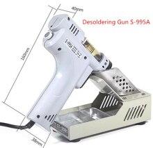 Desoldering Gun Electric Absorb Gun S-995A Electric Vacuum Desoldering Pump Solder Sucker Gun 220V 100W De-solder Gun