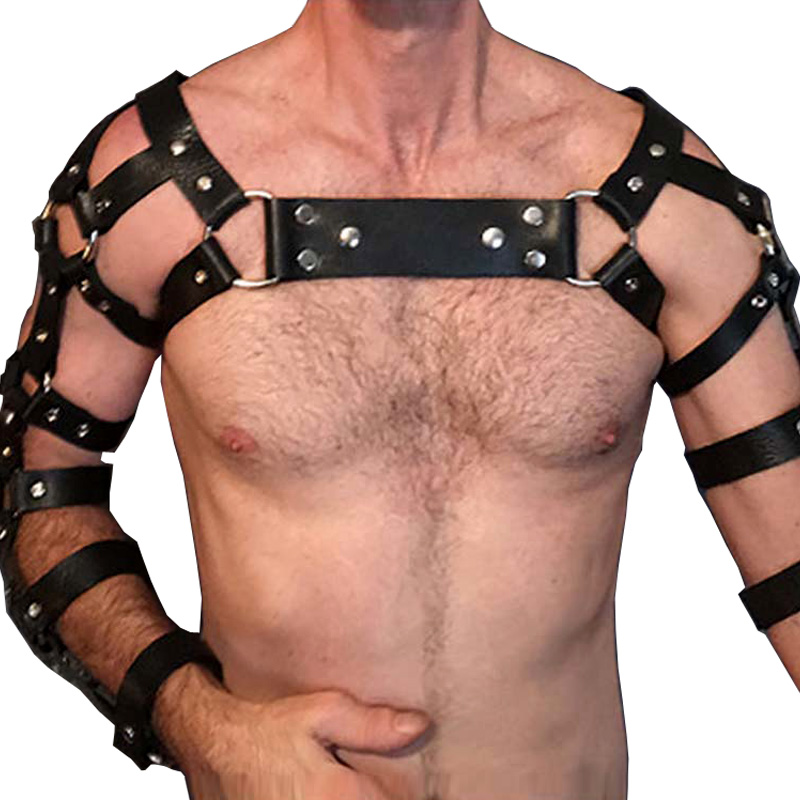 Body Harness Lingerie Sexy Man Body Bondage Bdsm Cage Erotic Outfits Kouseband Bruid Goth Punk Rave