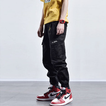 Fashion Streetwear Men Jeans Casual Harem Trousers Camouflage Military Pants hombre Big Pocket Cargo Hip Hop Joggers
