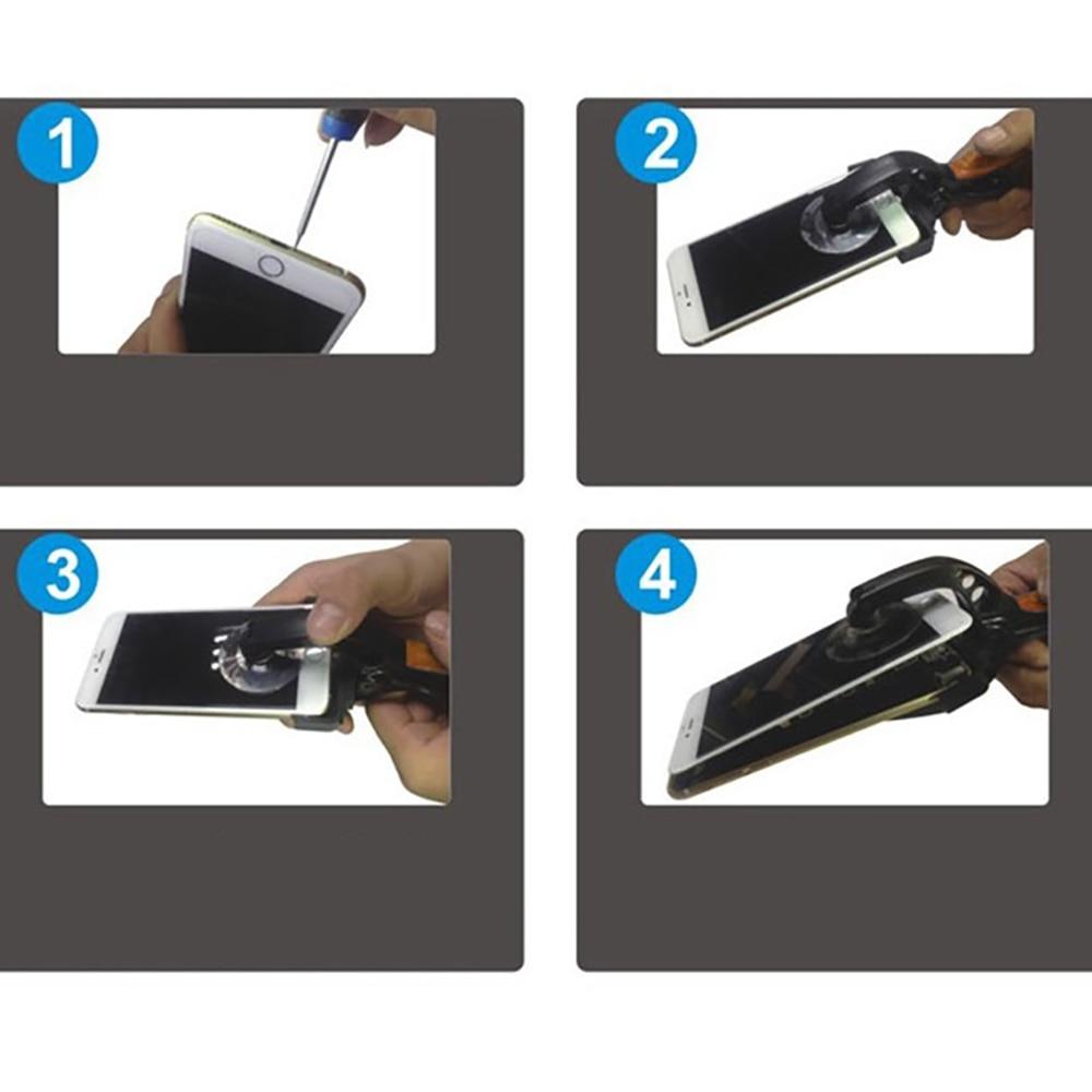 Alta qualità ! Pinze per apertura schermo LCD Ventosa per iPhone - Set di attrezzi - Fotografia 6