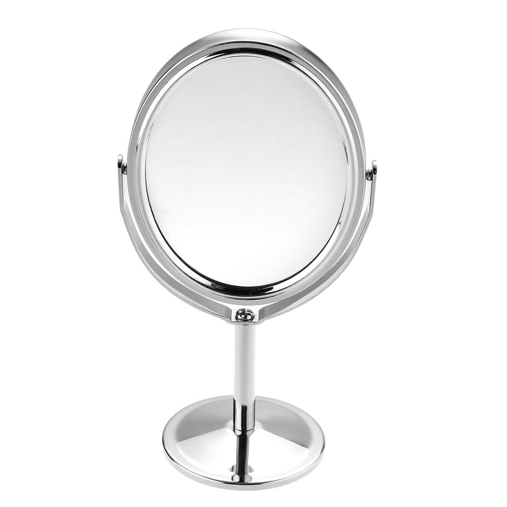 Women beauty makeup mirror dual side normal magnifying for Makeup mirror