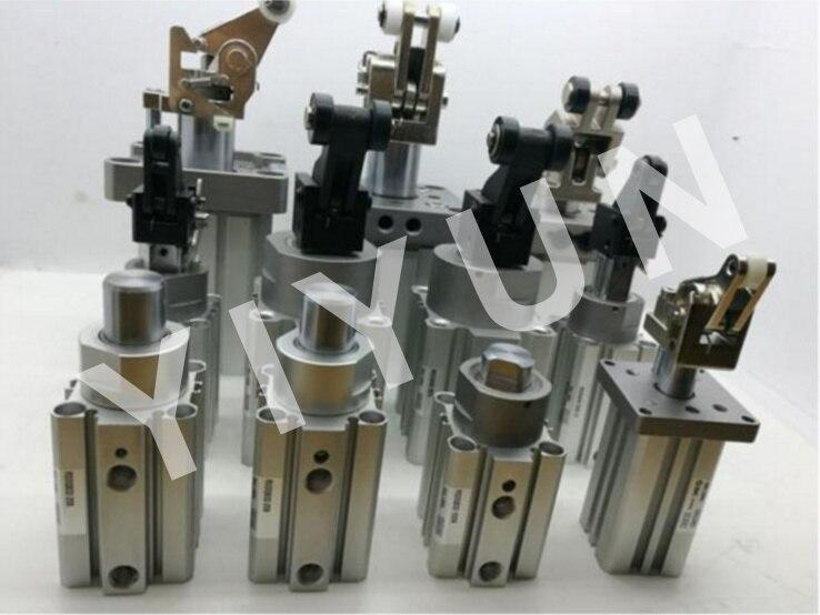 SMC brand SMC type Heavy duty stop cylinder RSA50-30DL RSA50-30DM RSA50-30BL RSA50-30BM RSA50-30TL RSA50-30TM cdujb16 20dm cdujb16 25dm cdujb16 30dm smc mini free mount cylinder cdujb series