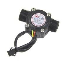 Датчик расхода воды расходомер Холла Датчик расхода воды контроль 1-30л/мин 2.0MPa