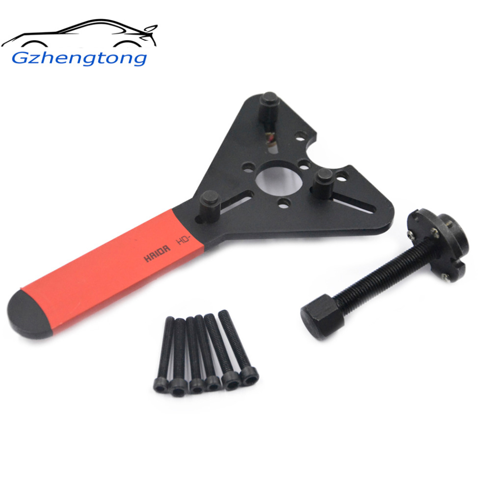 Gzhengtong Car AC Tool R134a R12 Compressor Clutch Demolition Combination Wrenches Automotive Air Conditioning Repair Tools