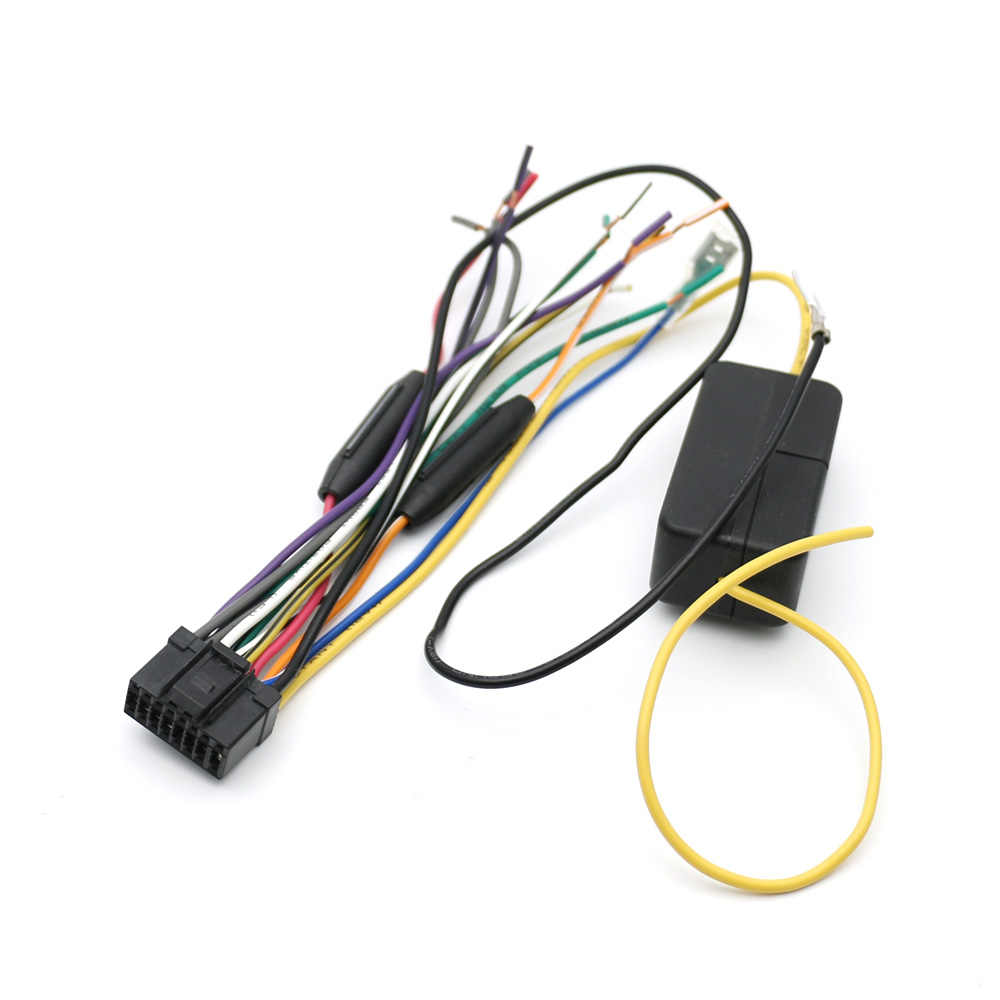 Atocoto Car Power Stereo Radio Wire Harness With Fuse