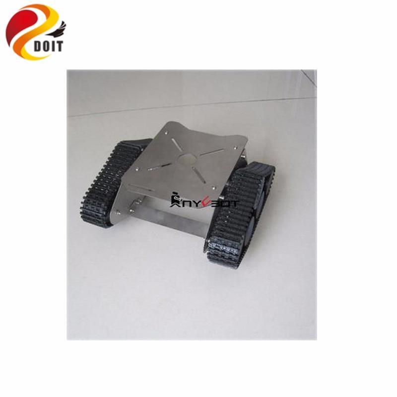 Robot Tank Metal Chassis Plastic Wheel Wall-E Robot Remote Control Mobile Platform DIY RC Toy alphabot mobile robot development platform chassis board