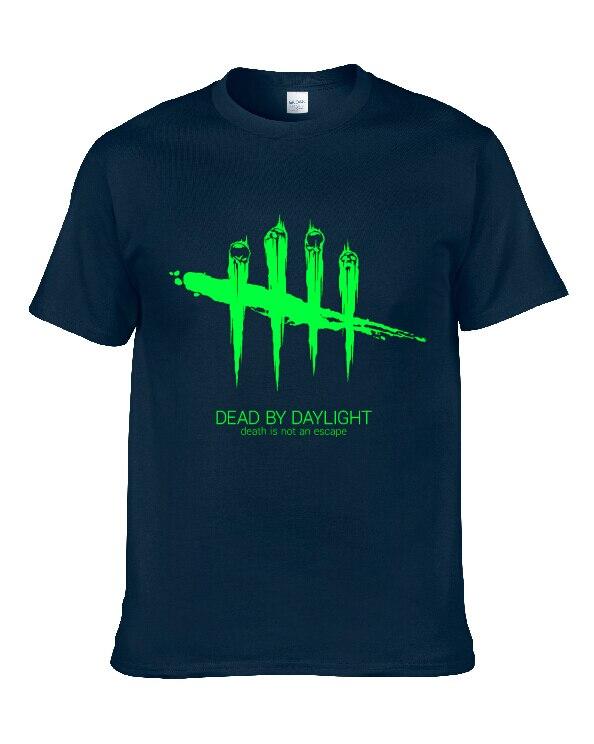 T Shirt Dead by Daylight Men Casual T-Shirt Tops Shirt 12colour