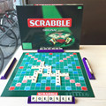 Scrabble board games learning english spelling crossword puzzles words solitaire game letters creative toy for children funny