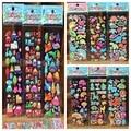 10 hojas de 3D Puffy Pegatinas de dinosaurios de la Historieta insectos Pegatinas de Coche para Niños boy DIY Scrapbook refrigerador Pegatinas de Burbuja