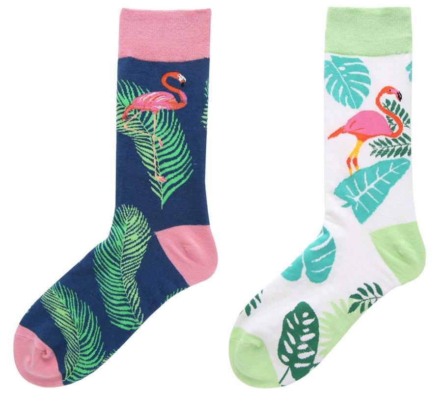 117.93руб. 50% СКИДКА|Фирменные качественные мужские носки с надписью «s Happy» из чесаного хлопка, с рисунком фламинго, 7 цветов, забавные носки на осень и зиму, повседневные мужские Компрессионные носки-in Мужские носки from Нижнее белье и пижамы on AliExpress - 11.11_Double 11_Singles' Day