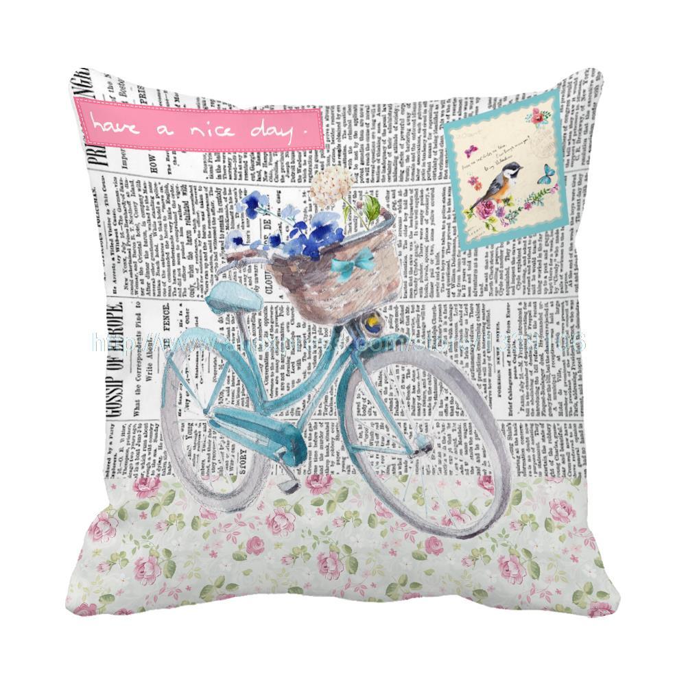 ⊰Euro estilo periódico Fondos Bicicletas floral ofertas de