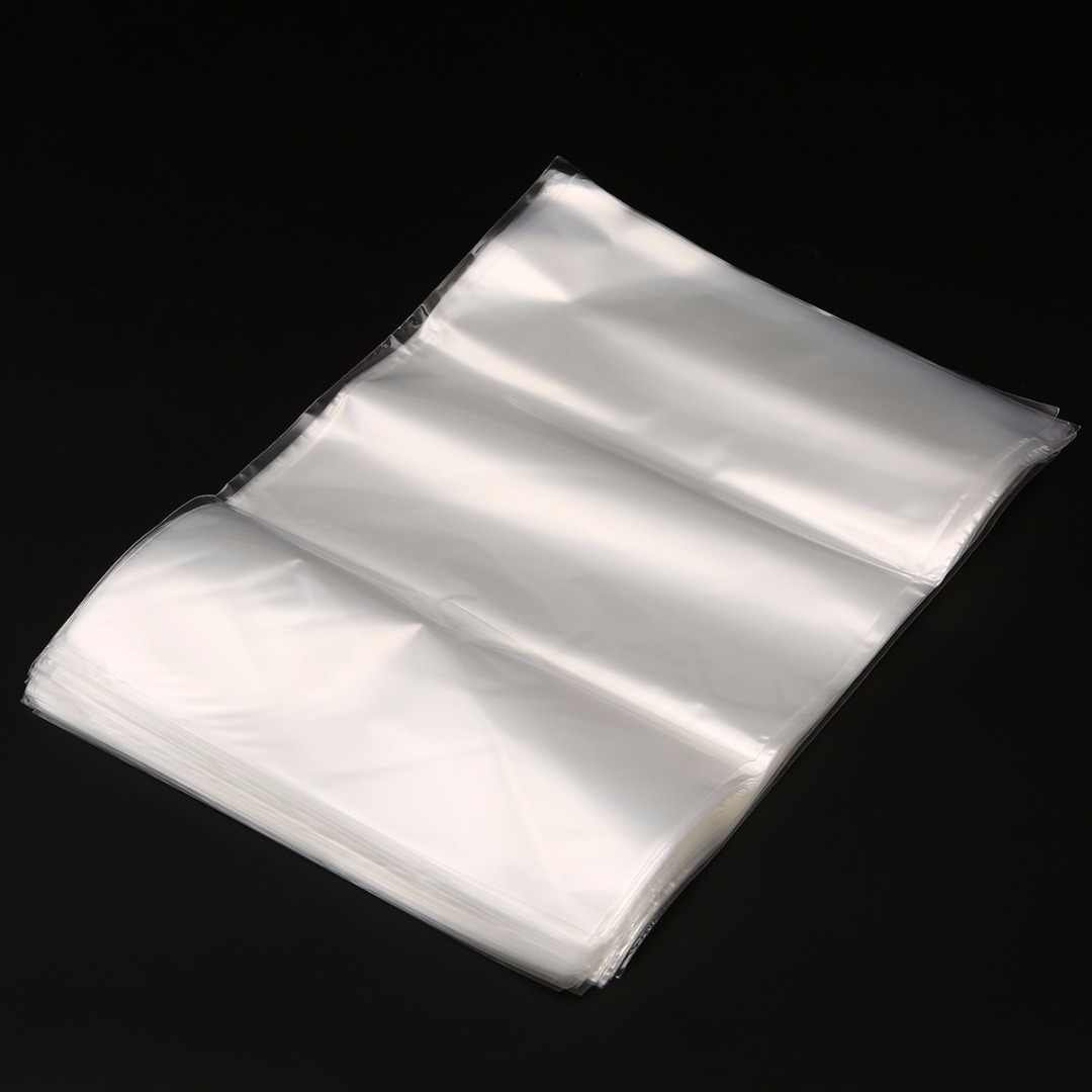 100pcs Multi-size Transparent Soft POF Shrink Wrap Film Heat Seal Bag Mayitr Gift Packing Soap Box Jars Cosmetics Packaging Bags