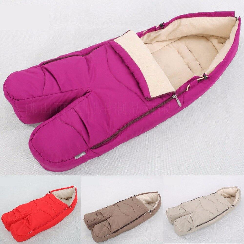 Costume pour dsland douxbebe qibeier stokk hiver super chaud chancelière sac de couchage jambes Séparées de couchage panier