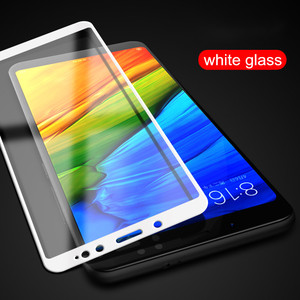 Image 2 - Full cover Tempered Glass For XIAOMI Redmi note 5 PRO note5 prime global 5.99 inch  Screen protective smartphone on toughened