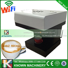 WIFI function operated Edible ink printer for coffee / food printer / selfie coffee printer