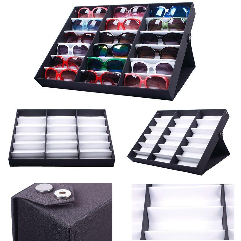 18PCS Eyewear Sunglass Organizer Box Jewelry Watches Display Storage Case  For Women Men #56337 In Underwear From Mother U0026 Kids On Aliexpress.com |  Alibaba ...