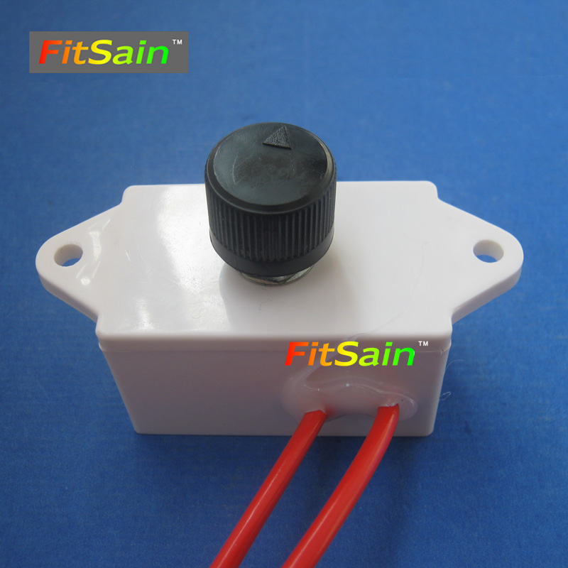 цена на FitSain-Adjust speed AC Motor 220V 1500W  speed control switch Dimmer switch With plastic shell