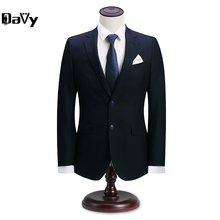 Man Custom Made Groom Tuxedos Customized Letters Groomsman Wool Suit Slim Homecoming Suit Wedding suit 3 pieces