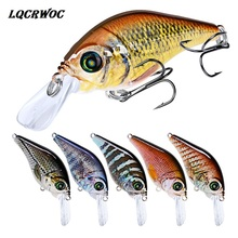 Lifelike Fishing Lure 78mm 12g Pesca Hooks Fish Wobbler Tackle Crankbait Artificial Japan swing Hard Bait swimbait Bionic minnow цена