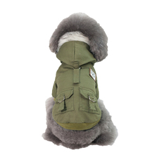 Stylish and Handsome Two Legs Pet Dogs Winter Jacket Coat