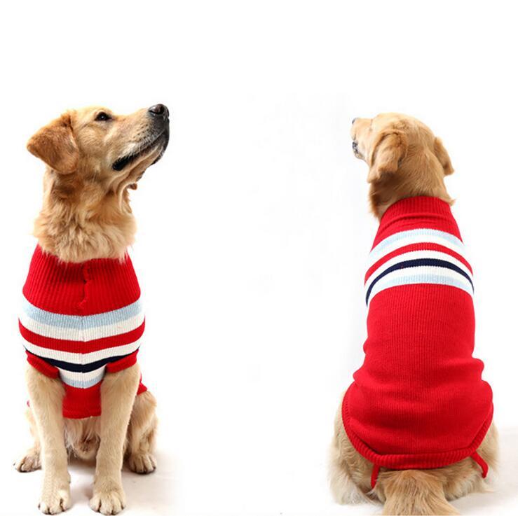 El nuevo Otoño Invierno engrosamiento mangas grandes perros suéter ...