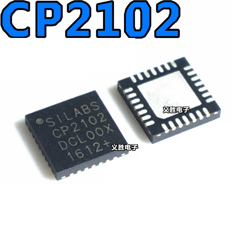 1pcs/lot CP2102-GMR CP2102-GM CP2102 QFN-28