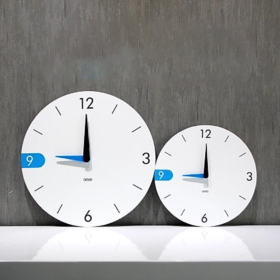Art Personaliz Simple chambre en bois horloge murale e grandes horloges murales décoratives décor à la maison Zegary salon décoration 50A0121
