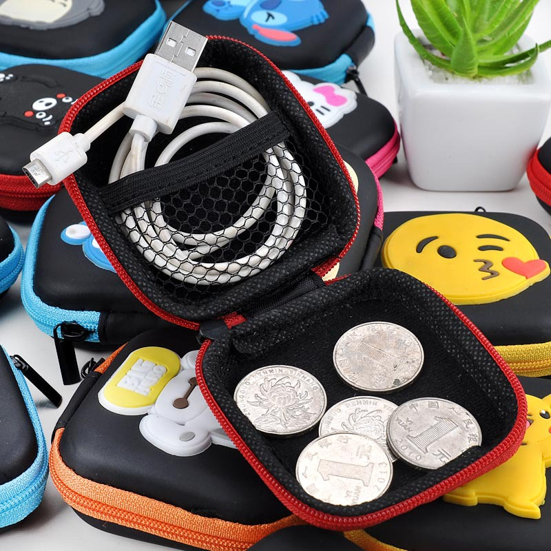 Coin Purses Novelty Cat Silicone Coin Purse Mini Zipper Round Bags Bolsas Headphone Holder Wallets Gift Men Women Storage Key Coin Wallet Easy To Use