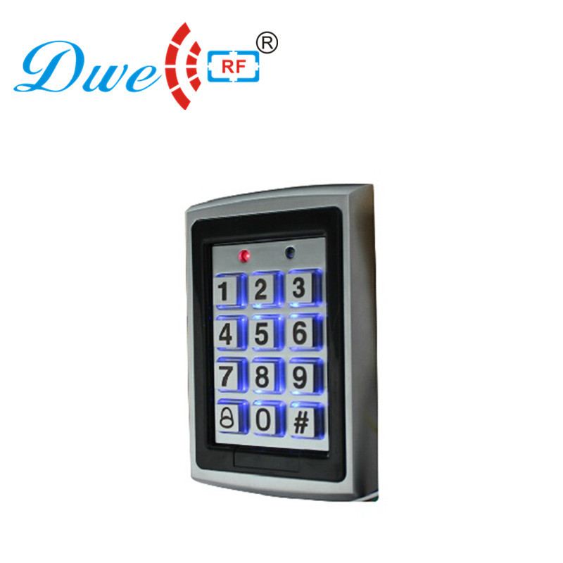Rugged metal 125 kHz RFID standalone controller PIN code door access control system                                 Rugged metal 125 kHz RFID standalone controller PIN code door access control system