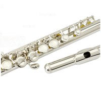 Japan High quality flute YFL 222 silver flute C tune musical instruments E key flute music Professional Free shipping