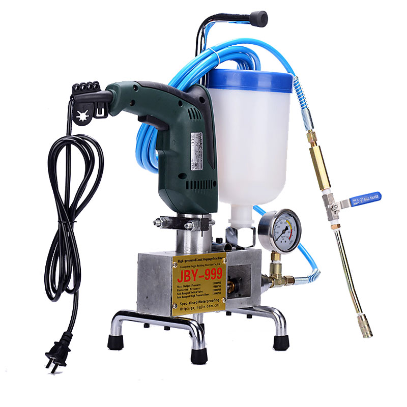 Plugging Grouting Machine Crack Plugging High-Pressure Grouting Machine For Building Waterproof Mending Equipment JBY-999