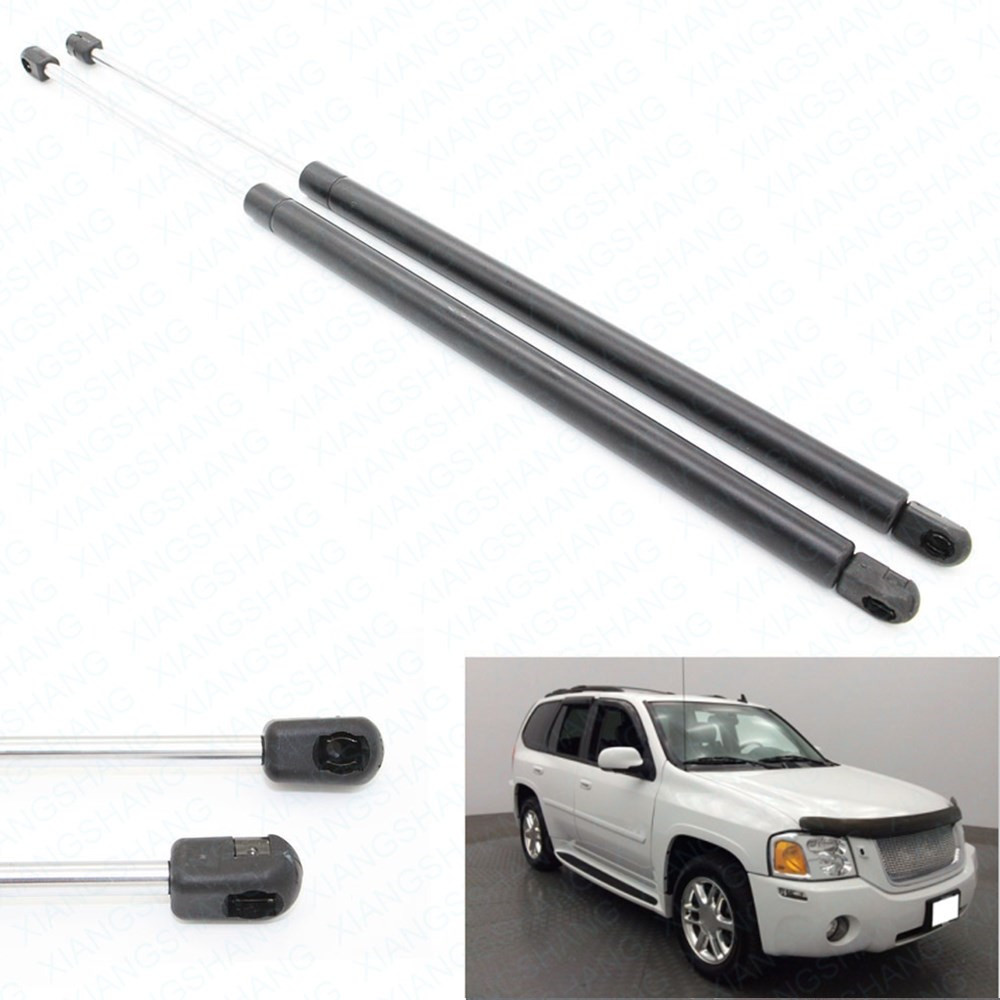 2pcs Hatch Liftgate Auto Gas Spring Prop Lift Support Fits for Saab 9-7X 2002-2009 for GMC Envoy SLT SLE Sport 20.10 inch