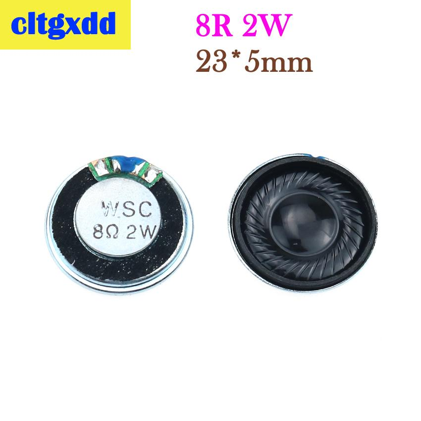 Cltgxdd Speaker Horn 1W 2W 8R Diameter 20/23/28/32/36/40mm Mini Loudspeaker Buzzer For Cell Phone/Radio/Game Console Etc