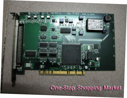 CONTEC AD12-16 (PCI) NO:7150 with good quality wholesale