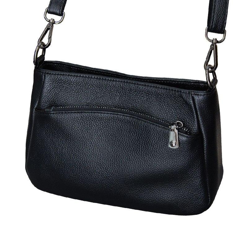 Offre spéciale 2018 nouveau Style 100% en cuir véritable mode dames sac à main simple sauvage Messenger sac collège style sac à bandoulière # 329-L