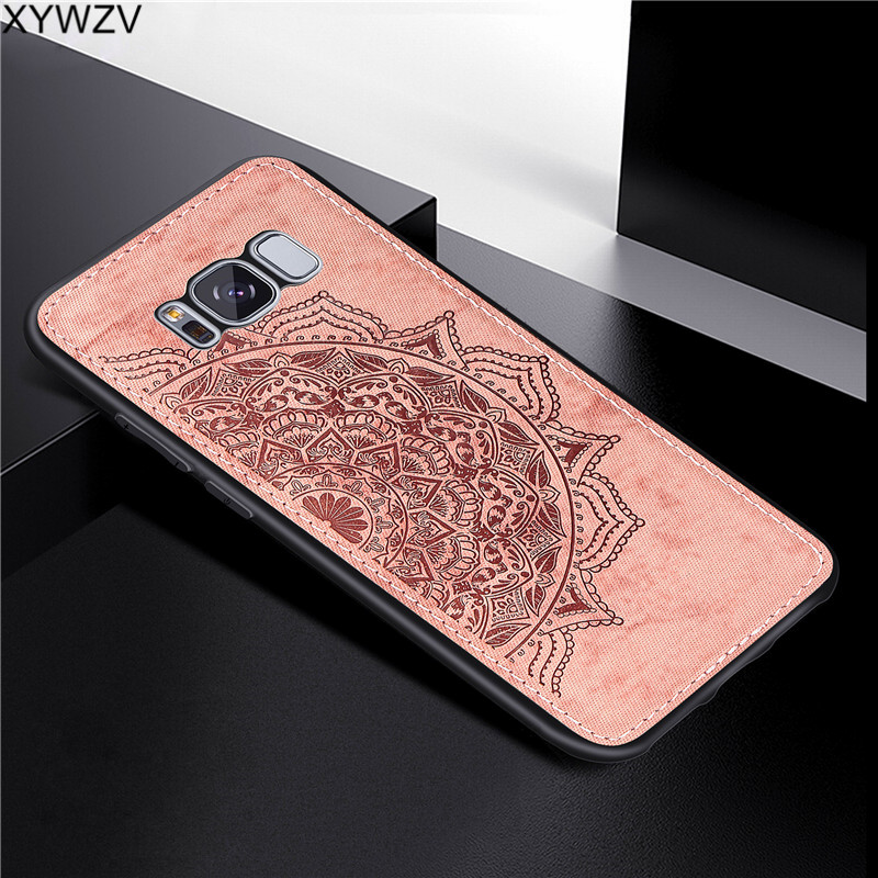 Image 4 - For Samsung Galaxy S8 Plus Case Luxury Soft Silicone Luxury Cloth Texture Hard PC Phone Case For Samsung Galaxy S8 Plus Cover-in Fitted Cases from Cellphones & Telecommunications