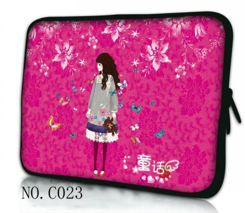 Fairy Girl Laptop Sleeve Bag Notebook Case bag For iPad Macbook PC 7.9 9.7 11.6 13 14 15 15.6 17.3 inch Women Men Kid bag