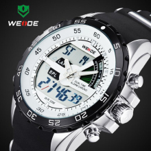 2017 WEIDE Brand Luxury Sport Watches For Men Digital Analog Shock Watch Army Military Waterproof Wristwatches Relogio WH1104