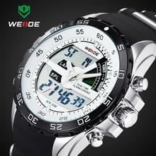 2016 WEIDE Marca de Lujo de Relojes Deportivos Para Hombres Analógico Digital Reloj Choque Impermeable Militar Del Ejército Relojes de Pulsera WH1104 Relogio