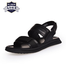 цена на Genuine Leather sandals mens summer new casual anti-slip slippers Sneakers Men Slippers Flip Flops casual Shoes beach outdoor
