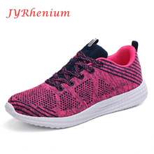 JYRhenium Newest Womens Sport Sneakers Damping Outdoor Running Shoes Breathable Summer Womens Jogging Shoes Size EU35-44