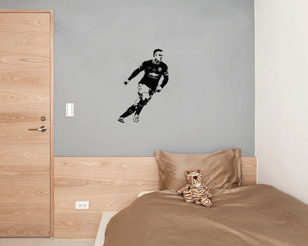Skateboard wall stickers images home wall decoration ideas wayne rooney famous football player wall decal cool boys bedroom wayne rooney famous football player wall amipublicfo Gallery