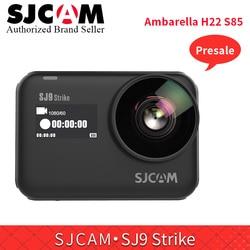In stock SJCAM SJ9 Strike Waterproof 4K WIFI Action Camera Touch Screen GYRO/EIS Wireless Charging Live Streaming Sports Camera