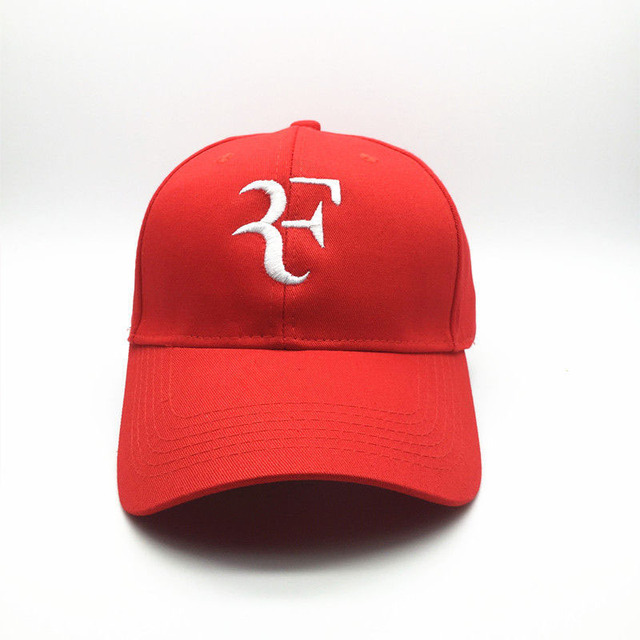 48b68b79a 3D Embroidery Unisex Baseball Cap Tennis Star Roger Federer Dad Hat For Men  Women Sport Cotton Snapback Caps Tennis hat F Hats