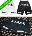 Melhor Versão, Pyrex Visão Shorts 2016 Kayne Ocidente hip-pop Estilo Moda Mid Soltos Drawstring Shorts Homens 2016