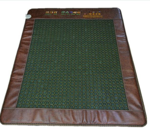 2017 free shipping cheap Natural jade thermal massage mattress health mattress far heated mat thermal jade mattress 1.2*1.9M 2016 natural heating germanium mat thermal massage cushion massage mattress health care 50 150cm free shipping