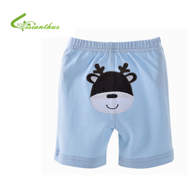 5-Pack Short Pants Baby Boys Girls 100% Cotton Clothes Summer Outwear Cartoon PP Pants  Baby Kids Shorts 0-2 Years Children New